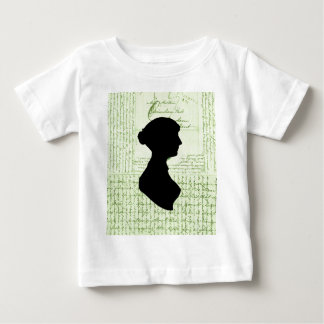 ジェーンAustenは、私をジェーンCrissCrossed Letterと女性電話します ベビーTシャツ