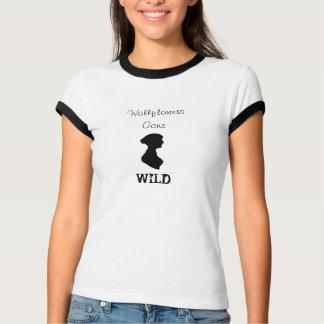 ジェーンAustenを特色にする壁の花によって熱狂させるワイシャツ Tシャツ