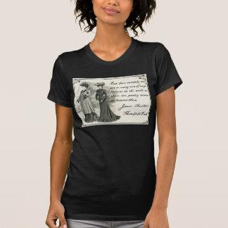 ジェーンAusten: かわいらしい女性のティー Tシャツ