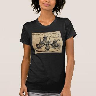 ジェーンAusten: 茶 Tシャツ