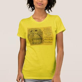 ジェーンAusten: 虚栄心 Tシャツ