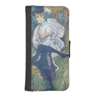 ジェーンAvrilの踊り、c.1892 iPhoneSE/5/5sウォレットケース