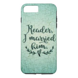 ジェーンEyreの読者結婚したなI彼 iPhone 8 Plus/7 Plusケース