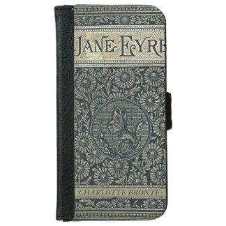 ジェーンEyreシャーロットBronteのアンティークの本 iPhone 6/6s ウォレットケース