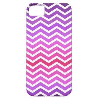 ジグザグパターンのiPhone 5の場合-紫色/マゼンタ Case-Mate iPhone 5 ケース