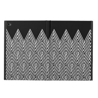 ジグザグ形のダイヤモンドのシェブロンの種族パターン POWIS iPad AIR 2 ケース
