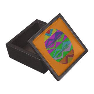 ジグザグ形の木製のギフト用の箱 ギフトボックス