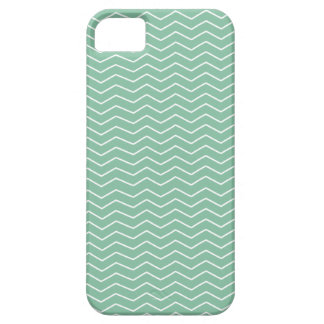 ジグザグ-真新しい緑のiPhone 5/5Sの箱 iPhone SE/5/5s ケース