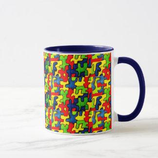 ジグソーパズルのコップ マグカップ