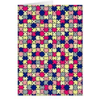 ジグソーパズル カード