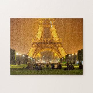 ジグソーパズル 夜 パリのエッフェル塔 ジグソーパズル