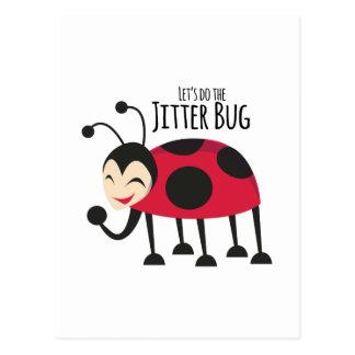 ジッターの虫をして下さい ポストカード