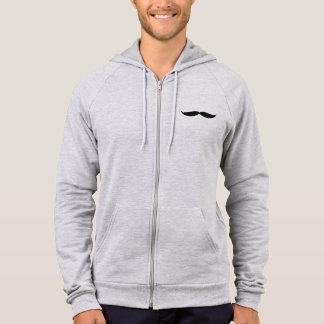 ジッパーのフード付きスウェットシャツ(ヒースの灰色) パーカ