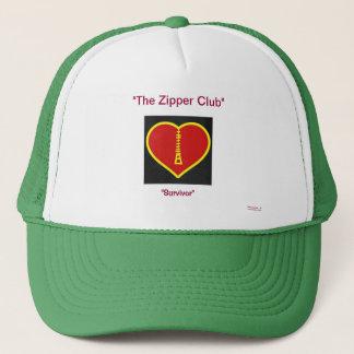 ジッパー(開いたハートの生存者)の帽子 キャップ