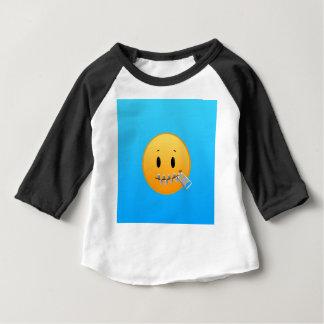 ジッパーEmoji ベビーTシャツ