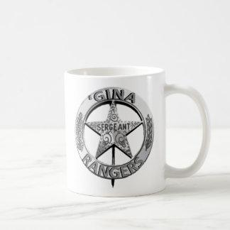 「ジナのレーンジャー コーヒーマグカップ