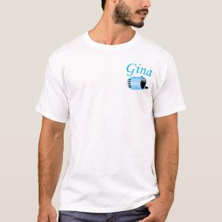 ジナの固定ストーカー Tシャツ