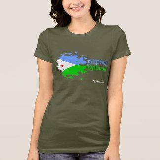 ジブチのグランジな暗闇 Tシャツ