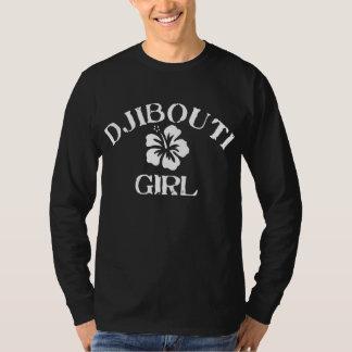 ジブチのピンクの女の子 Tシャツ