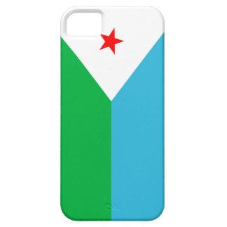 ジブチの国の長い旗の国家の記号 iPhone SE/5/5s ケース
