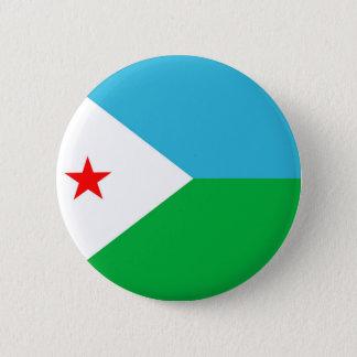 ジブチの国旗の国家の記号 缶バッジ
