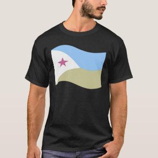 ジブチの振る旗 Tシャツ