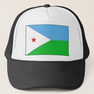 ジブチの旗の帽子 キャップ