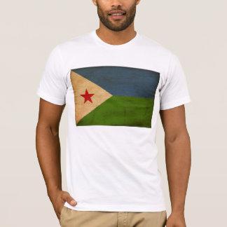 ジブチの旗のTシャツ Tシャツ