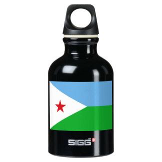 ジブチの旗 ウォーターボトル