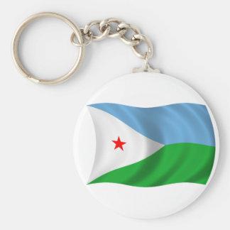 ジブチの旗 キーホルダー