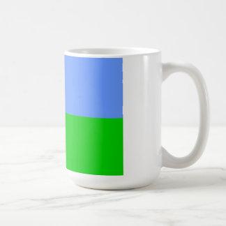 ジブチの旗 コーヒーマグカップ
