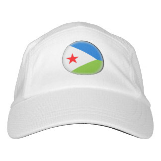 ジブチの旗 ヘッドスウェットハット