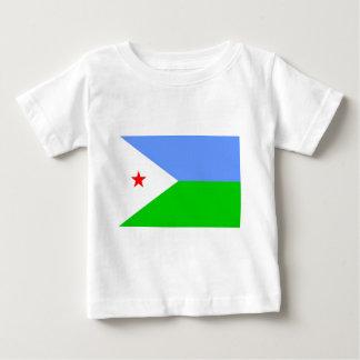 ジブチの旗 ベビーTシャツ