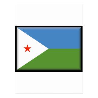 ジブチの旗 ポストカード