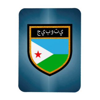 ジブチの旗 マグネット