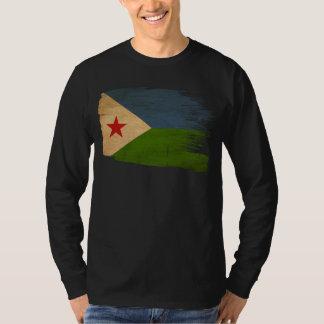 ジブチの旗 Tシャツ