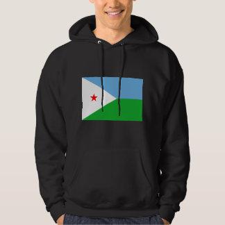 ジブチの旗DJ パーカ