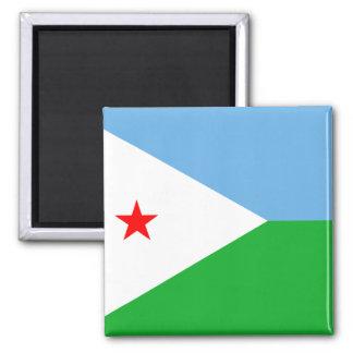 ジブチの旗DJ マグネット