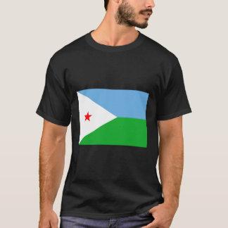 ジブチの旗DJ Tシャツ
