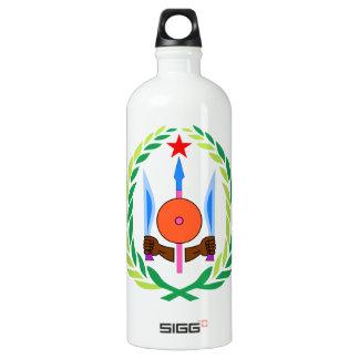 ジブチの紋章付き外衣 ウォーターボトル