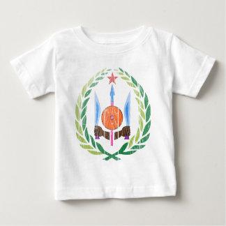 ジブチの紋章付き外衣 ベビーTシャツ