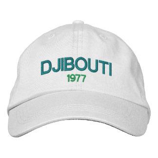 ジブチの1977年の野球帽 刺繍入りキャップ