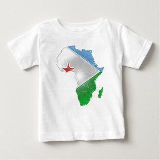 ジブチ ベビーTシャツ