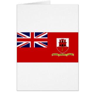 ジブラルタルの市民旗 カード