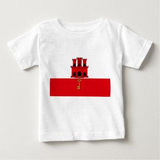 ジブラルタルの旗 ベビーTシャツ