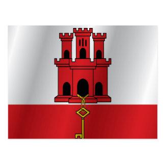 ジブラルタルの旗 ポストカード