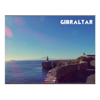 ジブラルタルの灯台からのアフリカの眺め ポストカード