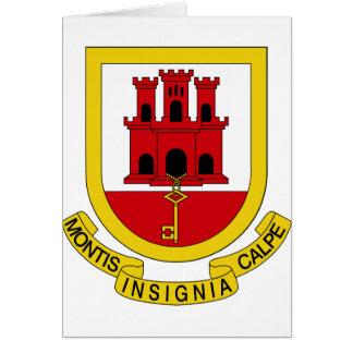 ジブラルタルの紋章付き外衣 カード