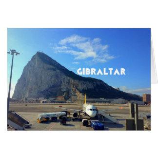 ジブラルタル空港の石 カード