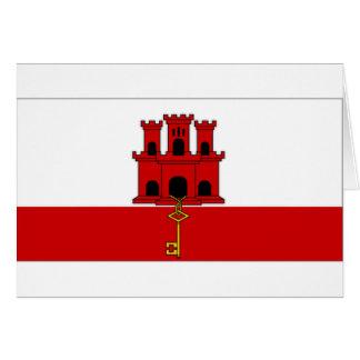 ジブラルタル都市旗 カード